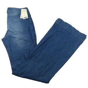 Michael Kors Flared Leg Jeans Size 6 Stretch Denim